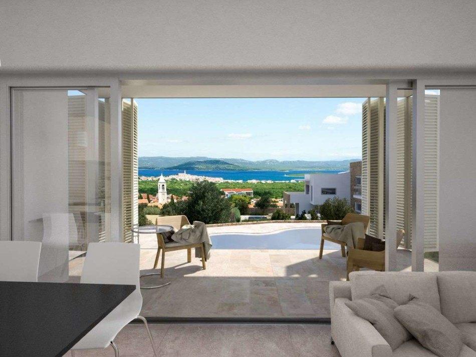 Murter eine wohnung mit einem wundersch nen panoramablick for Pool verkauf